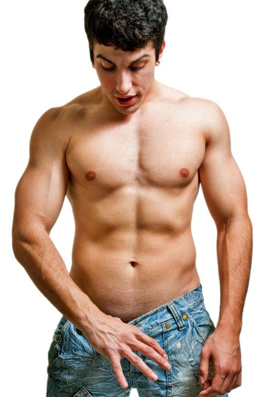 løfte vægte med din penis